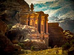 Recuerdo de otro clásico (Bonsailara1) Tags: bonsailara1 petra jordania jordan monasterio monastry travel souvenir