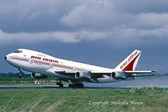 BOEING 747-212B VT-ENQ AIR INDIA (shanairpic) Tags: jetairliner passengerjet b747 boeing747 shannon airindia vtenq