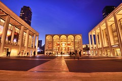 The Opera House (Lojones13) Tags: opera house lincolncenter newyorkcity plaza openspace evening blue hour nightshot twilight night lights