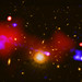 Black Hole Nurtures Baby Stars a Million Light-Years Away