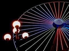 Morey's Pier. Wildwood, NJ. (Eight-Stone Press) Tags: amusements boardwalk jerseyshore newjersey wildwood lamppost ferriswheel