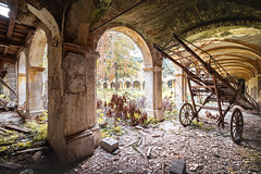 Lost Abbey (Fox Art') Tags: abandon architecture abandoned art patrimoine places beauty traveling decay urbaine urban décadence urbanexploration villa exploration urbexart photodaily grimnation religieux vieux creepy urbex urbextrem urbexworld ruine irixlens rouille tvurbex voiture rusty photography crusty mindtravel hospital irix nikon