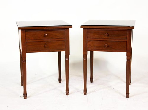 Pair of 2 Drawer Clore Bedside/End Tables ($952.00)