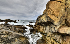 Beach (Doug Santo) Tags: pacificgrove beach rockyshore landscapephotography