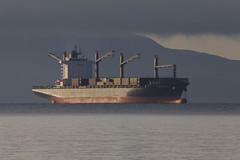 Photo of Hansa Asia Container Ship, off Ardrossan