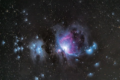 First Orion in Four Years (Kirby Wright) Tags: orion nebula gas dust deep space astro astronomy astrophotography flat dark bias light frames dss running man nebulosity ioptron skyguider pro cold nights long exposure manfrotto tripod nikon d750 tamron 150600mm f563 telephoto no telescope astrometrydotnet:id=nova3767433 astrometrydotnet:status=solved