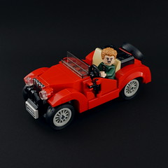 classic roadster (Sylon-tw) Tags: car ideas contest lego moc cars roadster vintage oldtimer sylon sylontw drive npu doors red