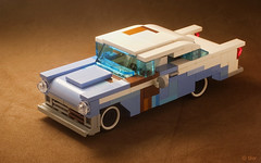 Barn Find: '56 Chevy Bel Air (_Tiler) Tags: lego car vehicle 56chevy belair