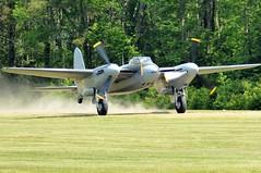 DSC_1641 (chris murkin) Tags: dehavilland dh98 mosquito ka114 canada bomber blur aircraft airshow warbird wwii warbirdsovervirginiabeech twinprop plane prop photo propblur