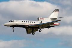 N68LM Falcon 50 100 KPTK (CanAmJetz) Tags: n68lm falcon 50 dassault 100 kptk ptk trijet aircraft airplane bizjet nikon