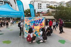 Community Canvas Jam - 2019 (VIVA_Vancouver) Tags: publicspace tagging graffiti mural streetart vancouverartgallery plaza vancouvermuralfestival transformationprojects