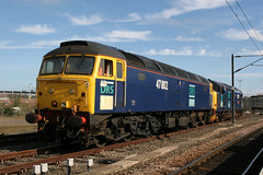 47802+37229 york psd 07.04.2007 (Dan-Piercy) Tags: drs class47 47802 class37 37229 yorkstation parcelsidings psd ecml
