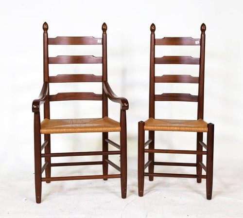 8 Clore Ladderback Chairs ($924.00)