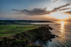 Acantilados de Verdicio (ccc.39) Tags: asturias verdicio gozón costa acantilados mar cantábrico atardecer sunset sea cliff coast shore