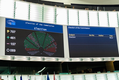 Parliament to vote on new European Commission