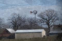 Happy Windmill Wednesday (novice09) Tags: windmill hww windmillwednesday painterly digitalartpainting fotosketcher
