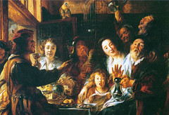 Come Cantano i vecchi, cosi schiamazzano i figli Jacob Jordaens (Sparkling Wines of Puglia) Tags: festa festino illustrated illustraciones illustrazioni illustrations illustration antico ancien vino jacobjordaens