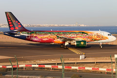 OO-SNF_03 (GH@BHD) Tags: oosnf airbus a320 a320200 a320214 brusselsairlines tomorrowland tomorrowlandlivery arrecifeairport lanzarote sn bel ace gcrr arrecife logojet specialcolours
