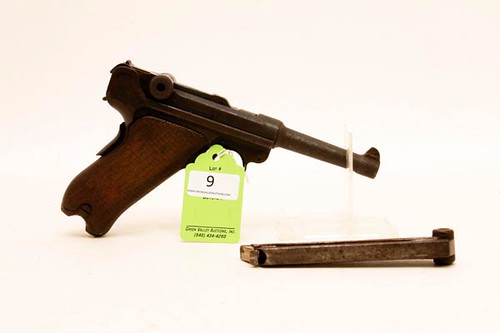 1906 Vickers Dutch Luger Semi Automatic Pistol ($1,120.00)