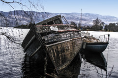 the Wreck (johnny_9956) Tags: ship boat wreck decay derelict abandoned scotland canon 7d outdoor outside water