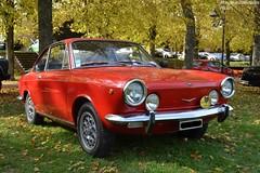 Fiat 850 Sport Coupé (Monde-Auto Passion Photos) Tags: voiture vehicule auto automobile cars fiat moretti coupé red rouge sportive rare rareté ancienne classique collection rassemblement france montereaufaultyonne