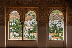 Alhambra Palace (amarilloladi) Tags: alhambra granada spain españa palace windows windowwednesday window hww city view moorish nasridpalace travel travelphotography