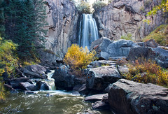 South Clear Creek Falls (valentina425) Tags: waterfall cliff gorge colorado hike mountains