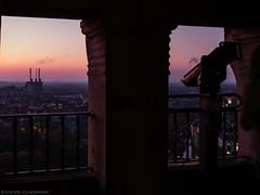 When the night comes (katrin glaesmann) Tags: hannover neuesrathaus turmauffahrt sunset myhometown hkw heizkraftwerklinden gud chp dreiwarmebrüder viewingplatform