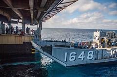 191125-N-HD110-1094 (U.S. Pacific Fleet) Tags: usnavy unitedstatesnavy ussharpersferry forgedbythesea sailors lsd49 amphibiousdocklandingship lsd harpersferryclass underway ussboxeramphibiousreadygroup arg us3rdfleet deployment tigercruise welldeckoperations pacificocean