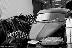 Volvo Pv 444! (petergranström) Tags: approved volvo pv 444 bil car auto veteran hood huv junk skrot