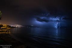 The thunderstones night over Kampos (markilou) Tags: thunderstones sea night scene samos canon 6d mark ii 1740mm l usm nature votsalakia kampos marathokampou