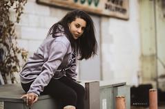 West Side Vibes (Ray Akey - Photographer) Tags: jojo model hood neighborhood afro pretty lady woman west windsor thehood