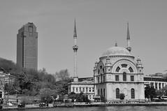Monochrome Elegance (Glocal Citizen) Tags: architecture history mosque baroque istanbul bosphorus turkey türkiye kabataş urbanscape urbanphotography photography monochrome elegance