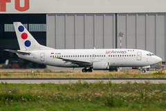 YU-ANL (PlanePixNase) Tags: eddl dus dusseldorf düsseldorf airport aircraft planespotting lohhausen jat boeing b733 737300 737 733