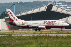 D-ADIC (PlanePixNase) Tags: eddl dus dusseldorf düsseldorf airport aircraft planespotting lohhausen boeing b733 737300 737 airberlin 733