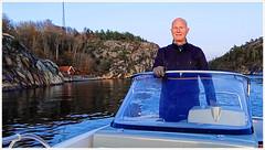 Captain Bjørn (Rex Block) Tags: lg g8 thinq mobile cell sverige kostet sydkoster sweden autumn coast captain motorboat ekkidee strmstad