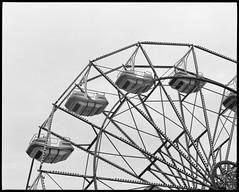 Ferris Wheel (thereisnocat) Tags: ride ferriswheel amusementpark shore jerseyshore beachhaven lbi longbeachisland oceancounty newjersey nj pentax67 trix