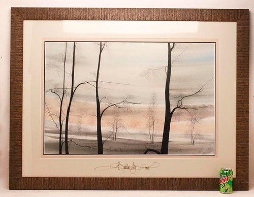"P.Buckley Moss Print ""Evening Sky"" 1978 ($532.00)"