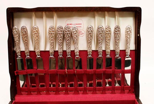 62 pieces of Steiff Rose Sterling Flatware ($1,064.00)