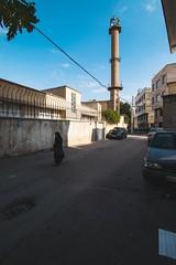 Ratio (aria.ebady) Tags: rues alleys cars buildings houses wideangle wide islam woman hijab nikond5300 iran ghazvin sky people neighborhood city town streetphotography streets street mosque ratio