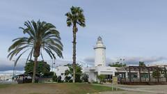 La Farola - Faro de Malaga, Costa Del Sol, Espagne, Spain - 3271 (rivai56) Tags: malaga costadelsol espagne spain espania phare lighthouse
