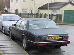 Jaguar XJ Sovereign (Andrew 2.8i) Tags: jaguar xj sovereign xj40 xj6 saloon executive british carspotting spotting street car cars streetspotting united kingdom wales classic classics uk