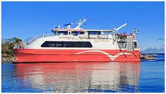 Arriving Ferry (Rex Block) Tags: lg g8 thinq mobile cell sverige kostet sydkoster sweden autumn coast landscape swedish kostervg ekens ekkidee
