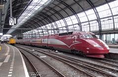 PB277434a 4536 (HenryTransport) Tags: trein treinen trains railways spoor spoorwegen amsterdam amsterdamcs thalys