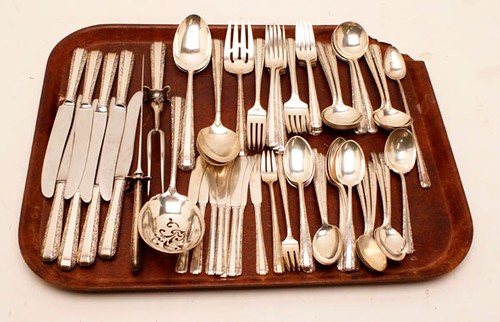 70 pieces of Candlelight Flatware ($1,008.00)
