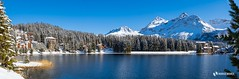Winter in Arosa (Markus.Widmer) Tags: schnee winter view berge aussicht trees panorama mountain snow mood blau weiss bäume spiegelung stimmung arosa tannen