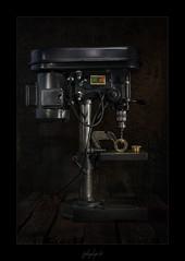 Standbohrmaschine (fotobagaluten.de) Tags: drilling machine bohrmaschine standbohrmaschine stillife stilleben technical technik