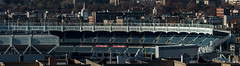 Yankee Stadium Pano (Edgar.Omar) Tags: lentartelezoom90230mm45 panoramic yankeestadium bridges bronx nyc new york pentax k50