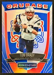 2017 Rookies and Stars Crusade #29 Tom Brady (SanAntonioSpurs21) Tags: tom brady new england patriots nfl football cards refractor