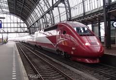 PB277454a 4306 (HenryTransport) Tags: trein treinen trains railways spoor spoorwegen amsterdam amsterdamcs thalys